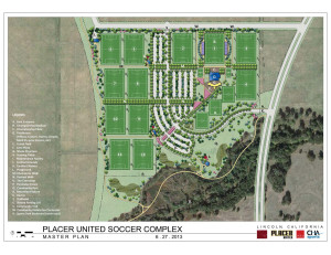 Placer United Soccer Complex, Lincoln